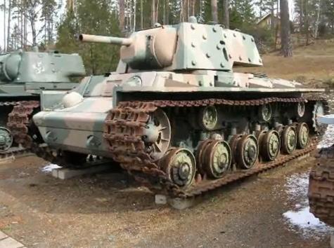 Czołg KW-1